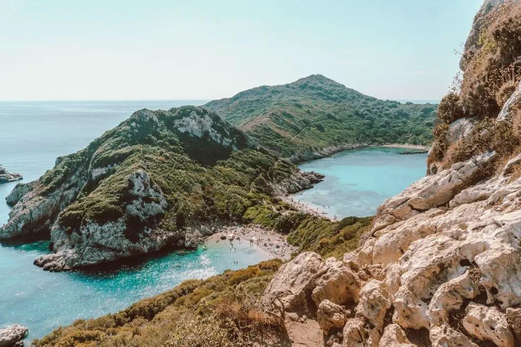 Corfu Port Timoni Greece