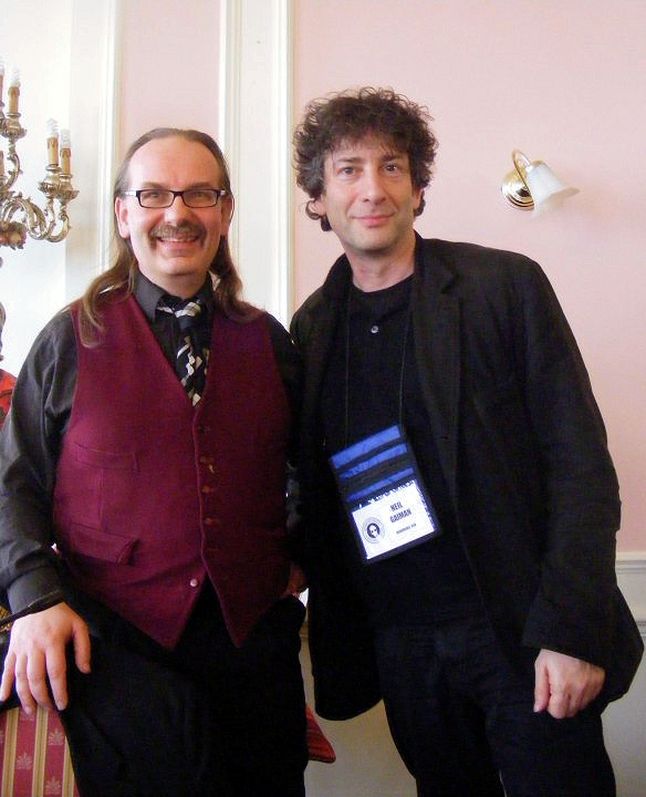 Kim and Neil Gaiman