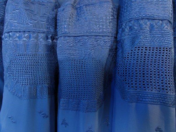 En burka från Herat, Afghanistan? Foto: Johnny Friskilä