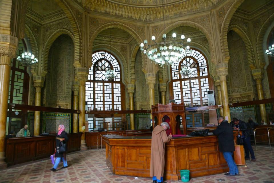 Huvudpostkontoret i Alger. Foto: Johnny Friskilä