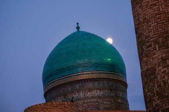 blue-hour-bukhara-uzbekistan