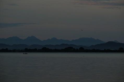 Water reservoir at Polonnaruwa, Sri Lanka