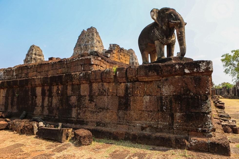 Angkor Wat East Elephant Temple-1