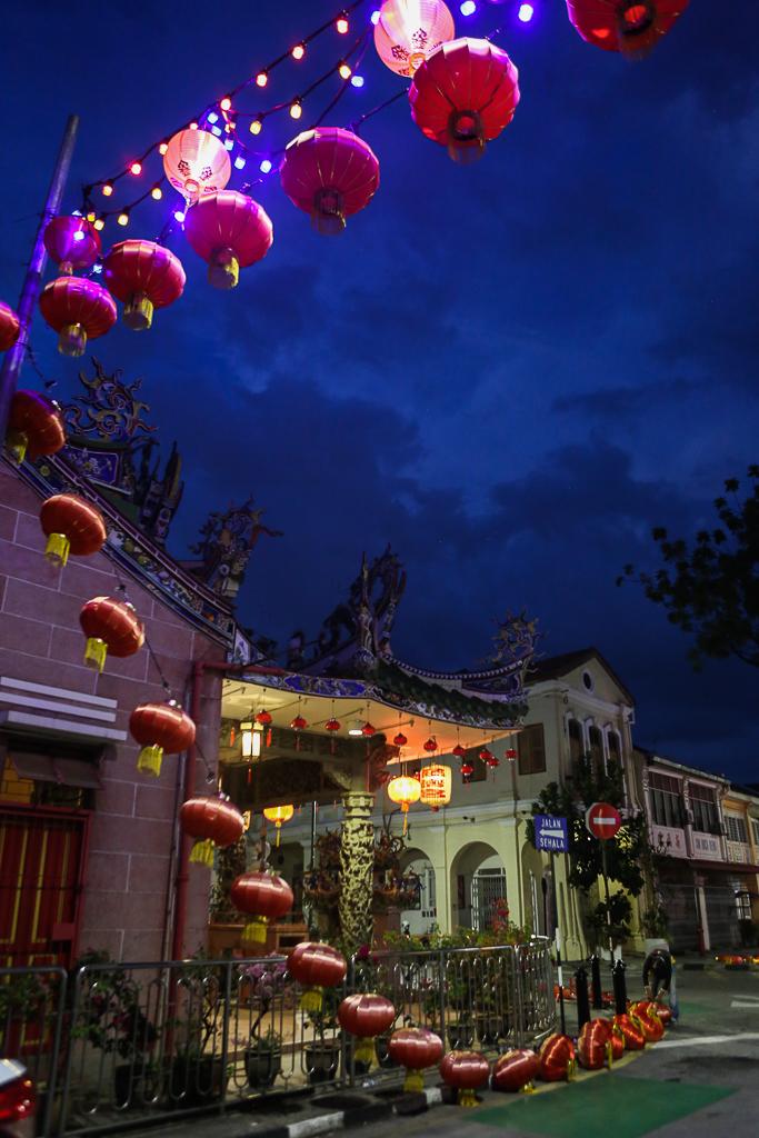 Georgetown Penang by night-2