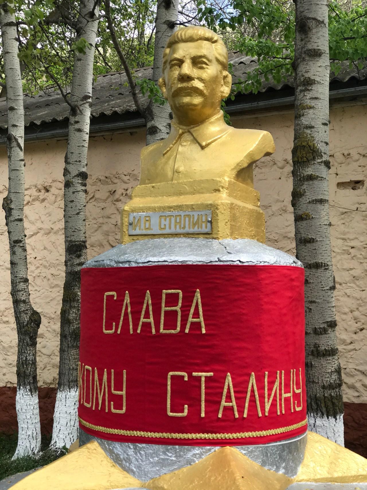 Statue of Stalin Ossetia