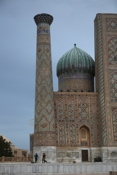 Registan Minaret Samarkand-5331