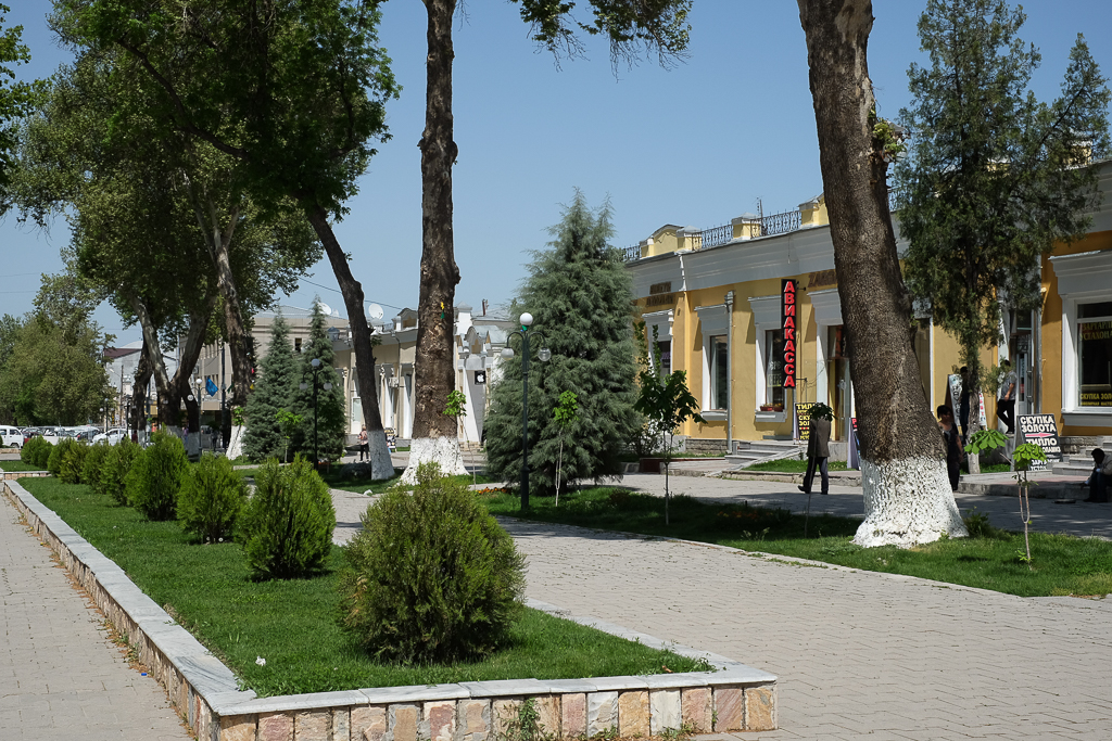 Modern Russian Town Samarkand Uzbekistan-0578