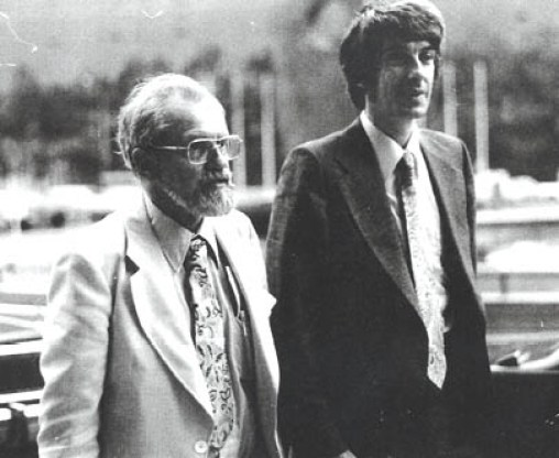 J. Allen Hynek and Jacques Vallee