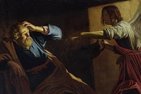 Peter Released from Prison - Gerritvan Honthorst