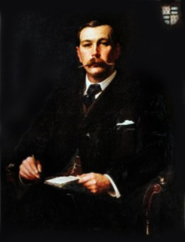 Portrait of Arthur Conan Doyle by Sidney Paget c. 1890