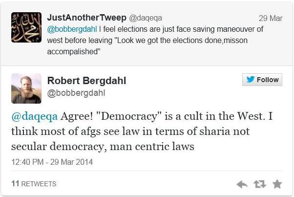 bob bergdahl--''democracy''