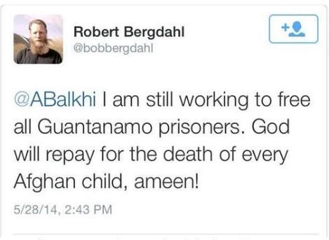 bob bergdahl's prayer