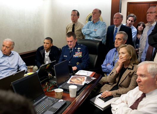 fake situation room pic of bin laden raid