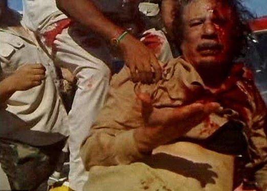 gaddafi executed