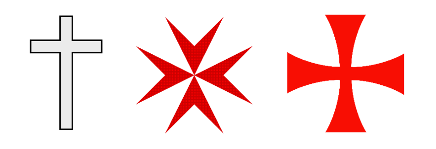 christian-cross-vs-maltese-cross