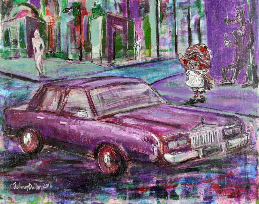 """Strawberry Street"" by Johnny Dollar"