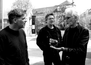 Stephen, Mike & John discussing serious matters