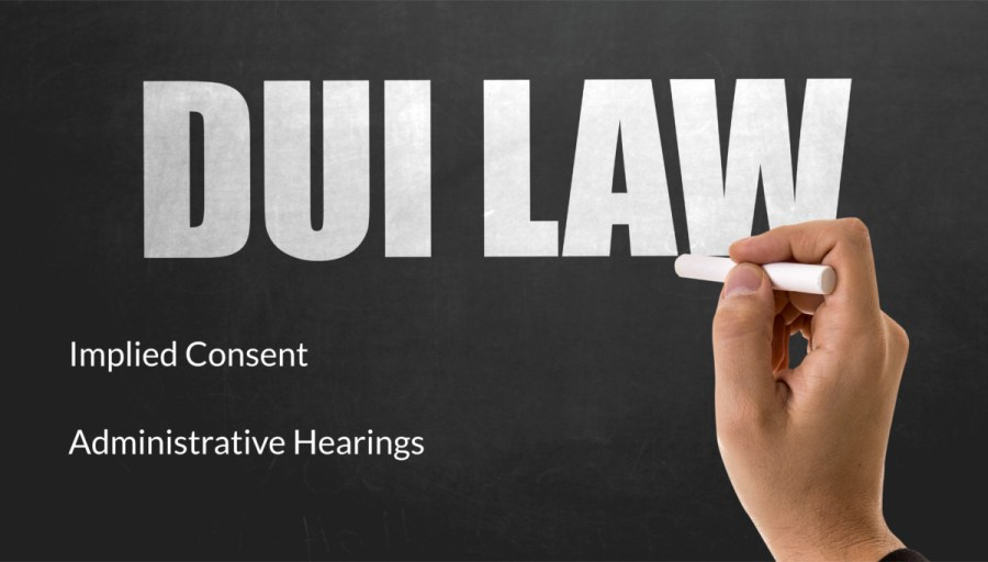 implied consent administrative hearings