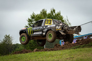 CJ Greaves Pro Light number 33 Monster Energy Toyota