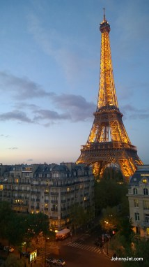 Paris Eiffel Tower View From Room