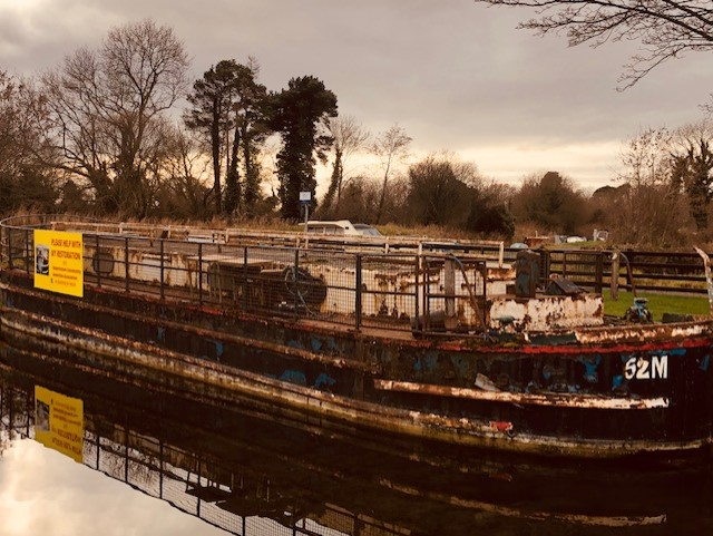 I'll tell you a story about the 52M Canal Barge - I'll tell