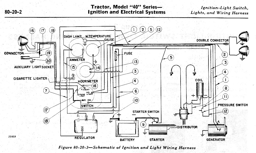 Farmtrac Tractor Wiring Diagram Jd40 Wiring Help Please Yesterday S Tractors