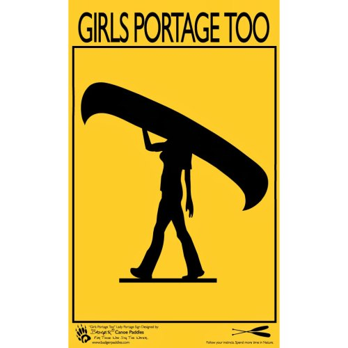 Girls portage too poster