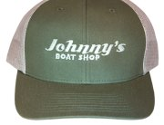 Johnny's Boat Shop Khaki/Tan Ball Cap
