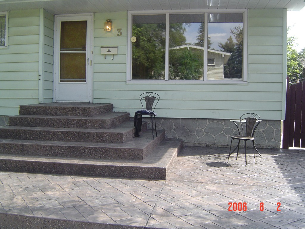 Johnnys Concrete  Staircases and Steps