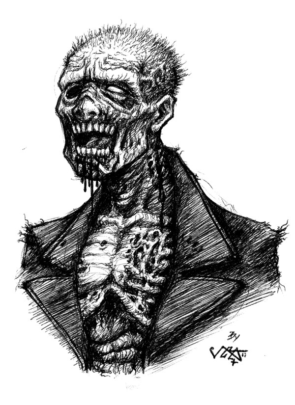 Zombie Drawings Sketches