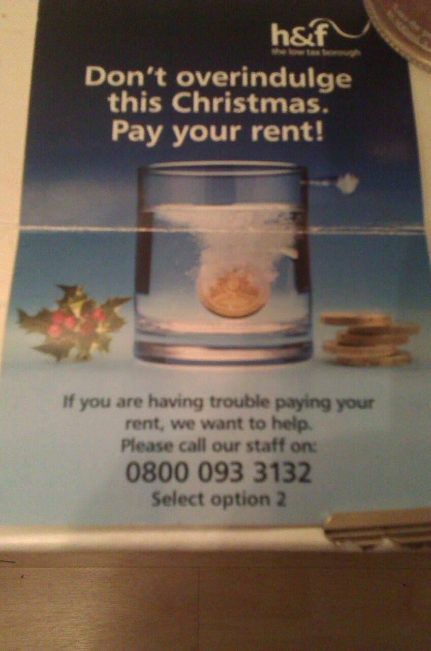 Tory Council Sends Out Disgusting Threatening And