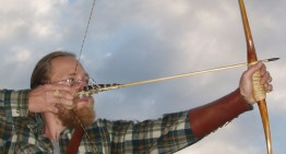 drawing the 'Katadin' bow