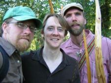 (LtoR) Johnny, Kevin Brock & Jan Burger