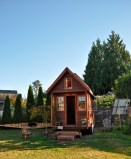 Mobilt hjem i Portland Foto: Wikimedia Commons