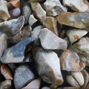 Decorative Aggregates - Golden Flint Gravel 20mm