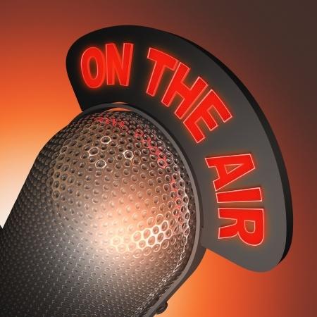 Radio Microphone On The Air