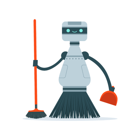 Robot cleaning home