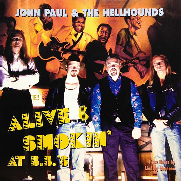 Alive & Smokin' CD cover
