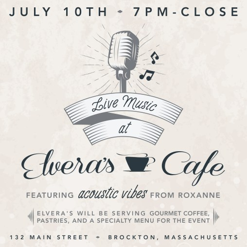 Elvera's Cafe Web Flyer