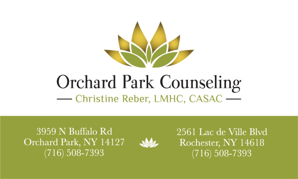 Orchard Park Counseling Business Card (front)