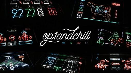 OP1andCHILL Logo / Banner