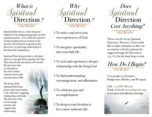Spiritual Direction brochure (back)