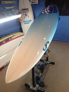 Threedom Surfboard Model by John Perry