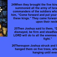 Quotations: The Book of Joshua (Books of the Bible). (2 Quotes).