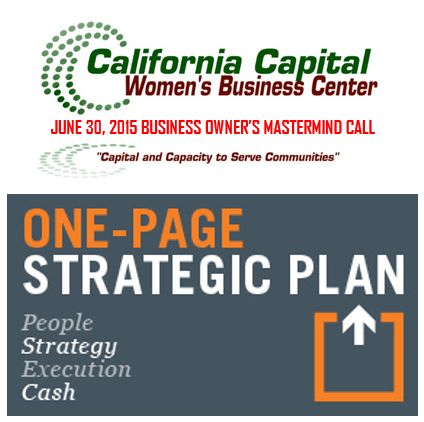 "Episode 38 – ""One Page Strategic Plan"""