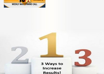 "Episode 80 – ""3 Ways to Increase Results in the 2nd Half of the Year!"""