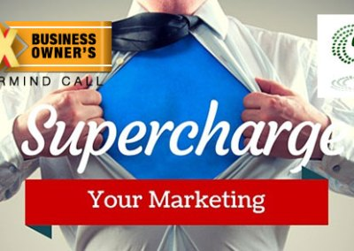 "Episode 57 – ""Supercharge Your Marketing"""