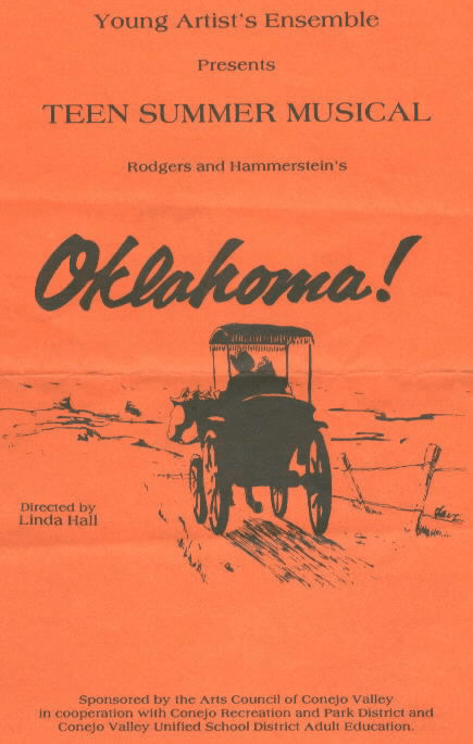 program for Oklahoma!