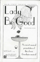 program for Lady Be Good