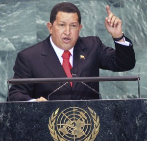 Chavez at the UN, 2008: 'The devil came here yesterday, and still today it smells of sulfur '